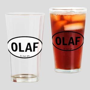 Euro Oval Sticker - OLAF Drinking Glass