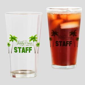 Shady Pines Staff Drinking Glass