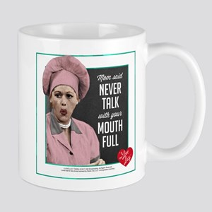 Talk with Mouth Full Mug