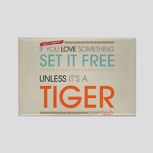 Modern Family Phil's-osophy Tiger Rectangle Magnet