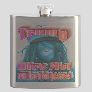 Blue Monkey Flask