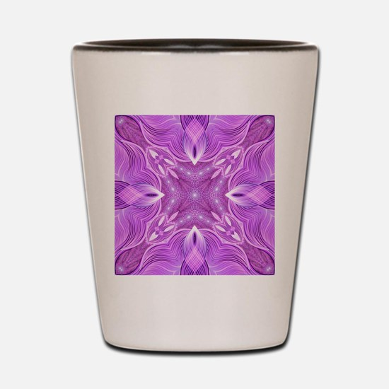 Cool Sacred geometry Shot Glass