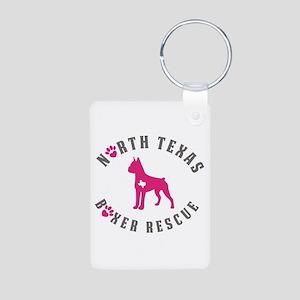 Ntbr Pink Logo Keychains