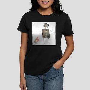 Robot and Bird T-Shirt