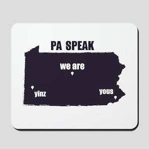 PA Speak Mousepad