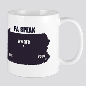 PA Speak Mugs