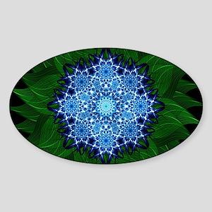 Arctic Flower Mandala Sticker