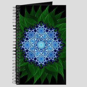 Arctic Flower Mandala Journal