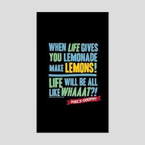 Modern Family Make Lemonades Sticker (Rectangle)