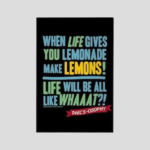 Modern Family Make Lemonades Rectangle Magnet