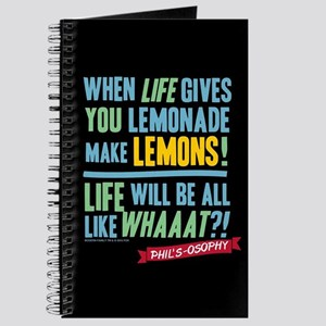 Modern Family Make Lemonades Journal