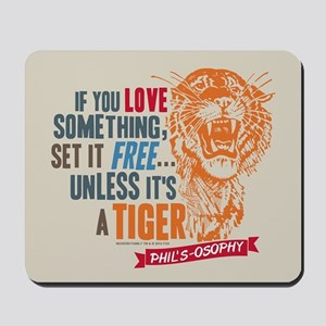 Modern Family Tiger Mousepad