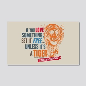 Modern Family Tiger Car Magnet 20 x 12