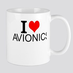 I Love Avionics Mugs