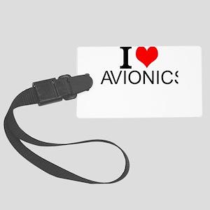 I Love Avionics Luggage Tag