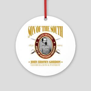 John B Gordon (SOTS2) Round Ornament