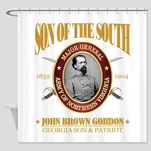 John B Gordon (SOTS2) Shower Curtain