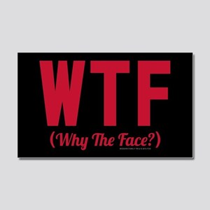 Modern Family WTF Car Magnet 20 x 12
