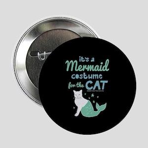 "Modern Family Mermaid Cat 2.25"" Button"