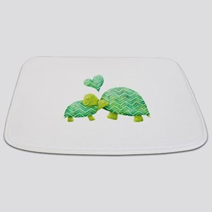 Turtle Hugs Bathmat