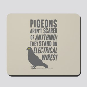 Modern Family Pigeons Mousepad