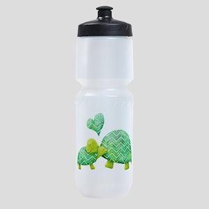 Turtle Hugs Sports Bottle