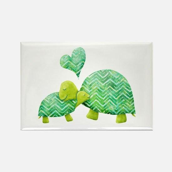 Turtle Hugs Magnets