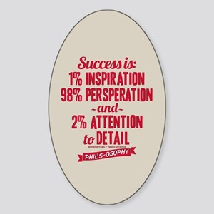Modern Family Success Sticker (Oval)