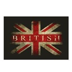 British Postcards (Package of 8)