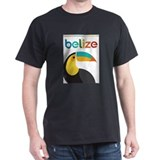 Belize Mens Classic Dark T-Shirts