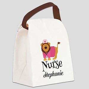 Personalized Nurse Nursing Student Canvas Lunch Ba
