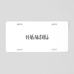 Marauders Aluminum License Plate