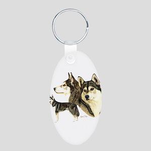 Sib Husky Multi dar Keychains