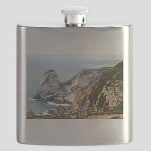 Cabo da Roca coast, Portugal Flask