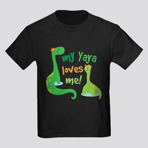 My Yaya Loves Me Dinosaur T-Shirt