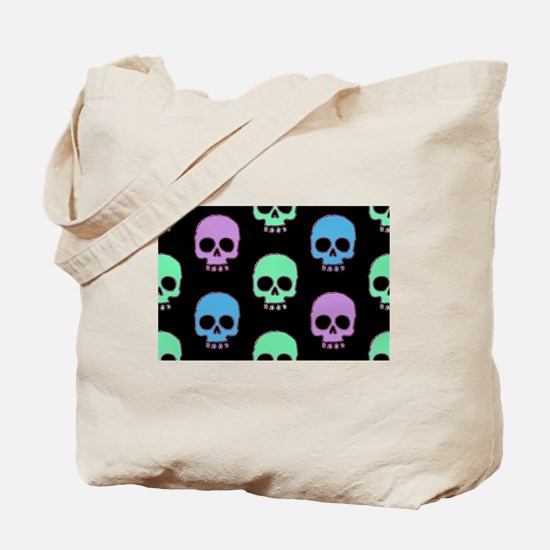 Cool Girly skull Tote Bag