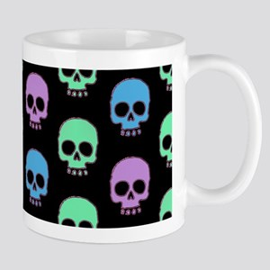 Pastel Skulls Mugs