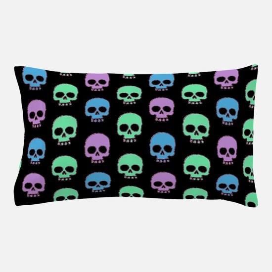 Pastel Skulls Pillow Case