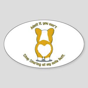 Admit it Corgi Butt Sticker