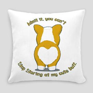 Admit it Corgi Butt Everyday Pillow