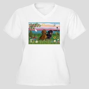 CARD-Lths-Shore-DACHPair Plus Size T-Shirt