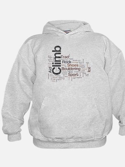 Climbing Word Sweatshirt