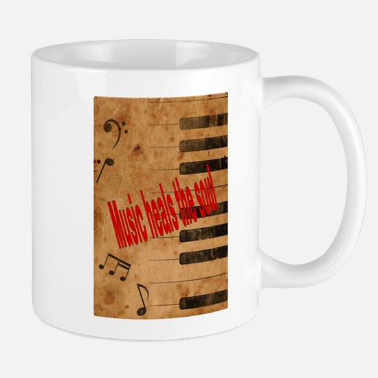 Music heals the soul Mugs