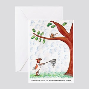 Jack Russell Greeting Cards