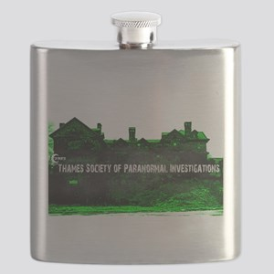 TSPI Mansion Logo Flask