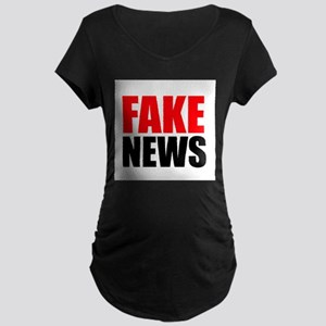 Fake News Maternity T-Shirt