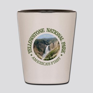 Yellowstone NP Shot Glass