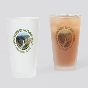 Yellowstone NP Drinking Glass