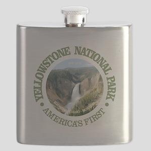Yellowstone NP Flask