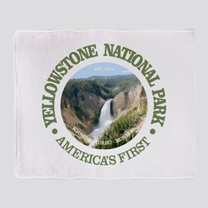 Yellowstone NP Throw Blanket
